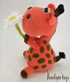 Crochet Pattern Giraffe