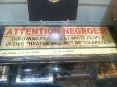 Apparently, this was a huge problem for racists back then.