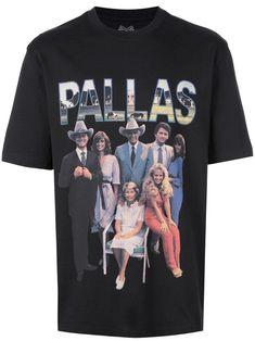 Palace Pallas Print T-shirt - Farfetch Black Cotton, Size Clothing, Palace, Street Wear, Women Wear, Short Sleeves, Mens Tops, T Shirt, How To Wear
