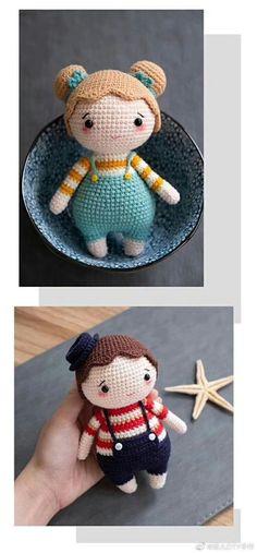 Crochet Dolls, Knit Crochet, Cat Amigurumi, Baby Dolls, Tatting, Diy And Crafts, Bunny, Teddy Bear, Pattern