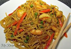 Singapore Noodles with Shrimp and All Purpose Stir Fry Sauce...tried and loved!