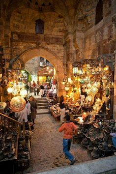 Khan el Khalili market in Cairo, Egypt...what a fun place to shop! good times...