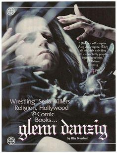 Danzig Misfits, Glenn Danzig, Rob Zombie, Sam Hain, Serial Killers, Punk Rock, Rock N Roll, Good Music, Heavy Metal
