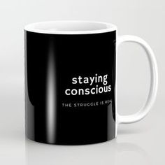 The perfect staying awake while . the struggle is real! Funny Coffee Mugs, Funny Mugs, Weird Facts, Crazy Facts, Get One, How To Get, Real Coffee, Struggle Is Real, How To Stay Awake