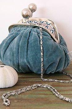 Cute Chubby Velvet Bag