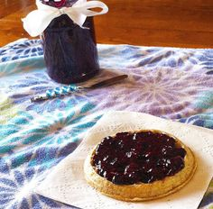 Quick, Easy,Clean-eating Jam: Lemon-Bluberry Chia Seed Jam - To make low carb use your favorite Sugar Free Sweetener instead of honey. I use Nature's Hollow Sugar Free Honey Substitute, Stevia, Erythritol, Pyure Organic All-Purpose Stevia Sweetener or Swerve.