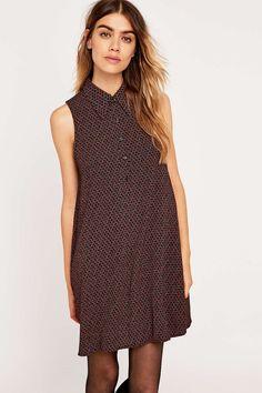 Urban Outfitters Hexagon Shirt Dress