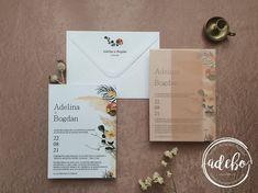 Invitatie nunta Protea
