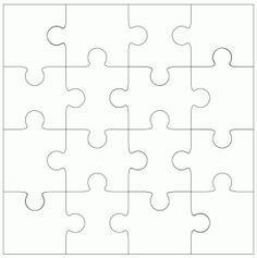 Hi There! I have a jigsaw with more pieces as promised, this time with 16 pieces for slightly older children and as with the 9 piece Jigsaw in my last post you have a cut file version with a printa…