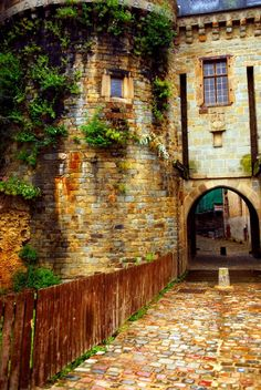 Medieval, Rennes, Brittany, France photo via david