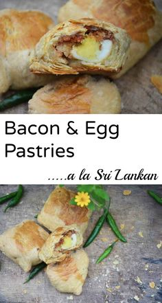 "Why not turn your breakfast bacon & egg into a deliciously buttery pastry? A Sri Lankan specialty ""shorteat"" as we know it, here's the recipe to those lipsmacking pastries you've been waiting for!"
