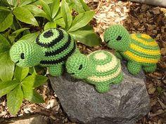Häkelanleitung Schildkröte PDF by ideenkiste, 2 neue Schildkröten sind geboren:- ) Die Häkelanleitung zu beiden Schildkröten (eine etwas größere ...