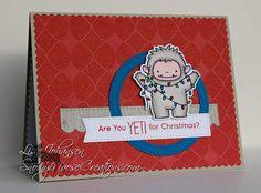 Snowy Moose Creations: A Yeti Christmas  MFT Beast Friends