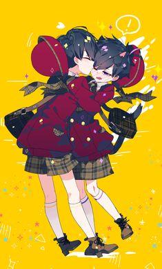 Kid Character, Character Design, Osomatsu San Doujinshi, Alien Drawings, Ichimatsu, Drawing Poses, Kawaii, Boys, Cute