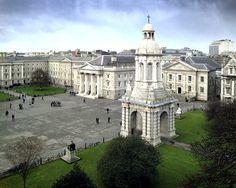 Trinity College Dublin #dublin #ireland