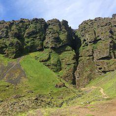 Snæfellsnes -Rauðfeldsgjá