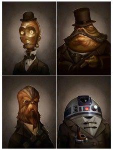 Incredible Star Wars Steampunk Portrait  #maythefourth #starwarsday #swd
