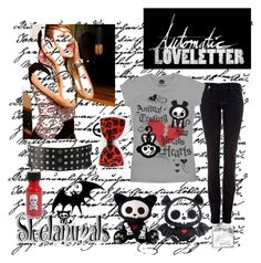 """""""Automatic Loveletter & Skelanimals"""" by belenriot ❤ liked on Polyvore featuring Missoni, INC International Concepts, Forever 21, Burton, skelanimals, automatic lovelleter and music"""