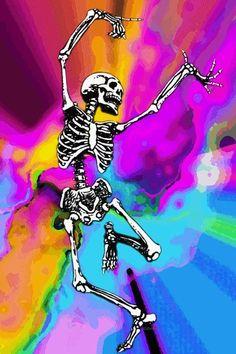 Acid tripping skeleton