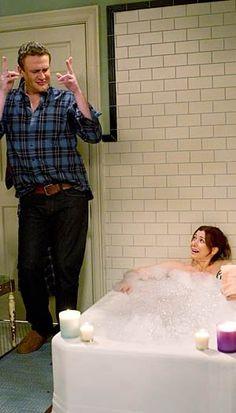 Jason Segal & Allison Hannigan (Oh Marshall!)