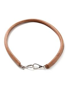 handmade leather + silver belt / lovely
