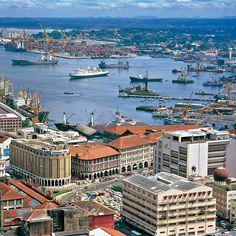 Die Hauptstadt Sri Lankas - Colombo