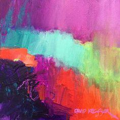 """Evening 3"" 10x10 Acrylic on Paper #davidmkesslerfineart #modernart #contemporaryart #abstractartist #proartist #artofinstagram"