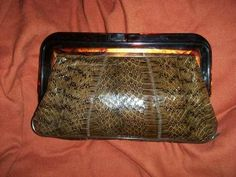 linda bolsa clutch vintage hm4