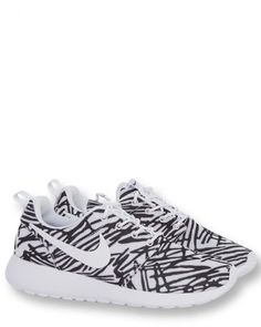 Nike Roshe One Print Schwarz-Weiß