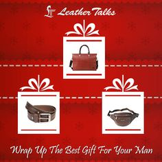 Looking for the perfect gift for him? Your search ends here. Leather Talks has rounded up all the best Christmas gifts ideas for this year for any budget and style. #belts #wallets #folios #waistpouches Take a look at http://leathertalks.com/
