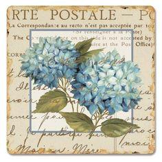 Toprak ve ah ap dekupaj resimleri carte postale - Papel de transferencia para plancha ...