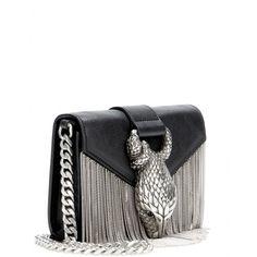 Embellished leather shoulder bag - Shoulder bags - Saint Laurent