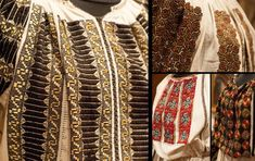 Ia Traditionala Romaneasca Hand Embroidery, Costumes, Blouse, Countryside, Clothes, Folklore, Embroidery, Outfits, Dress Up Clothes
