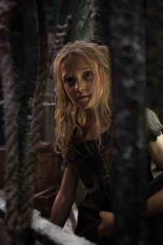 "‎""There is a castle on a cloud, I like to go there in my sleep"" - Isabelle Allen as young Cosette in Les Misérables"