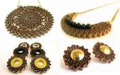 Carton jewelry for greener fashion! | Greendiary : Greendiary – Let's go green and save the environment for a sustainable future