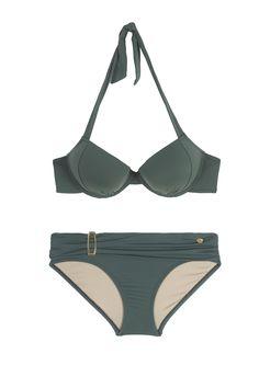 Ses Illetes: Sujetador push-up con aros con bikini normal - The new swimwear…
