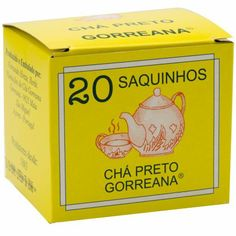 Comprar Gorreana: Chá Preto em Saquetas - Saquetas de Chá Preto dos Açores