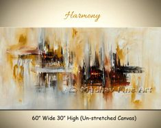 Large Set of 2 Painting, Set of 2 Wall Art Set, Canvas Painting, Hand painted Abstract Painting, Black white brown - Ethan Hill Art Large Painting, Acrylic Painting Canvas, Painting Frames, Your Paintings, Beautiful Paintings, Original Paintings, Framed Wall Art, Canvas Wall Art, Room Photo