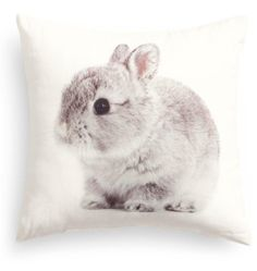 Baby bunny accent pillow at h&m