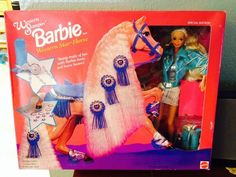 Western Stampin' Barbie with Western Star Horse