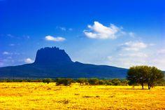 Cerro del Bernal en el municipio de Gonzalez en Tamaulipas