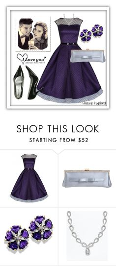 """""""50s Date Night..."""" by sweetadry ❤ liked on Polyvore featuring RED Valentino, Wet Seal and Love Quotes Scarves"""