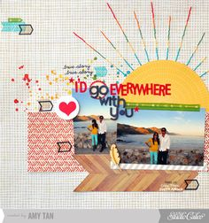 I'd Go Everywhere With You *Main Kit Only* by amytangerine at Studio Calico - 10/12