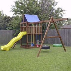 DIY Plans | Play Structures | Photos | Outdoor Structures | Landscaping | This Old House