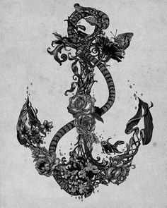 Anchor Tattoo Idea #anchors #tattoo