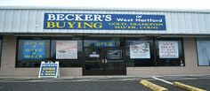 Becker's Gold Buying store at 609 West Main Street, Norwich, CT (Next to Little Caesars Pizza) ALSO SELLING JEWELRY!
