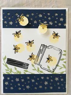 Jar of Love Stampin Up                                                                                                                                                      More Love Cards, Diy Cards, Paper Cards, Love Stamps, Stamping Up Cards, Homemade Cards, Scrapbook Cards, Find Bugs, Firefly Jar