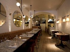 NAC North Audley Cantine London www.bullesconcept.com