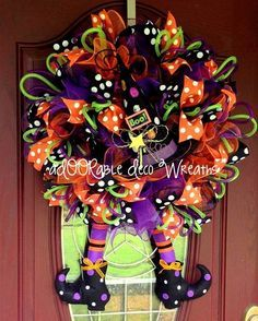 Witch wreath-I think we found something like this when my Momma was in Poteau