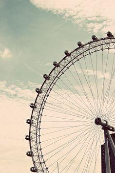 London Eye / Min plats i solen